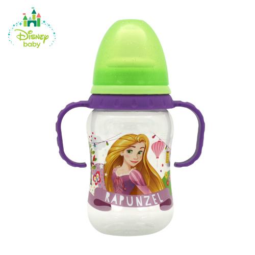 Бутылочка для кормления из серии Принцессы с силиконовой соской, сменным носиком, от 0 мес., 250 мл, со шкалой Lubby
