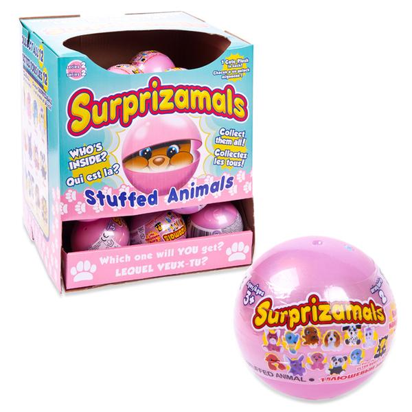Игрушка-сюрприз Surprizamals 2  - Плюшевые фигурки зверят в капсулахЖивотные<br>Игрушка-сюрприз Surprizamals 2  - Плюшевые фигурки зверят в капсулах<br>