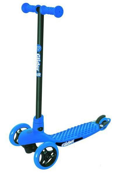 Самокат YVolution Glider AIR синий, 100809