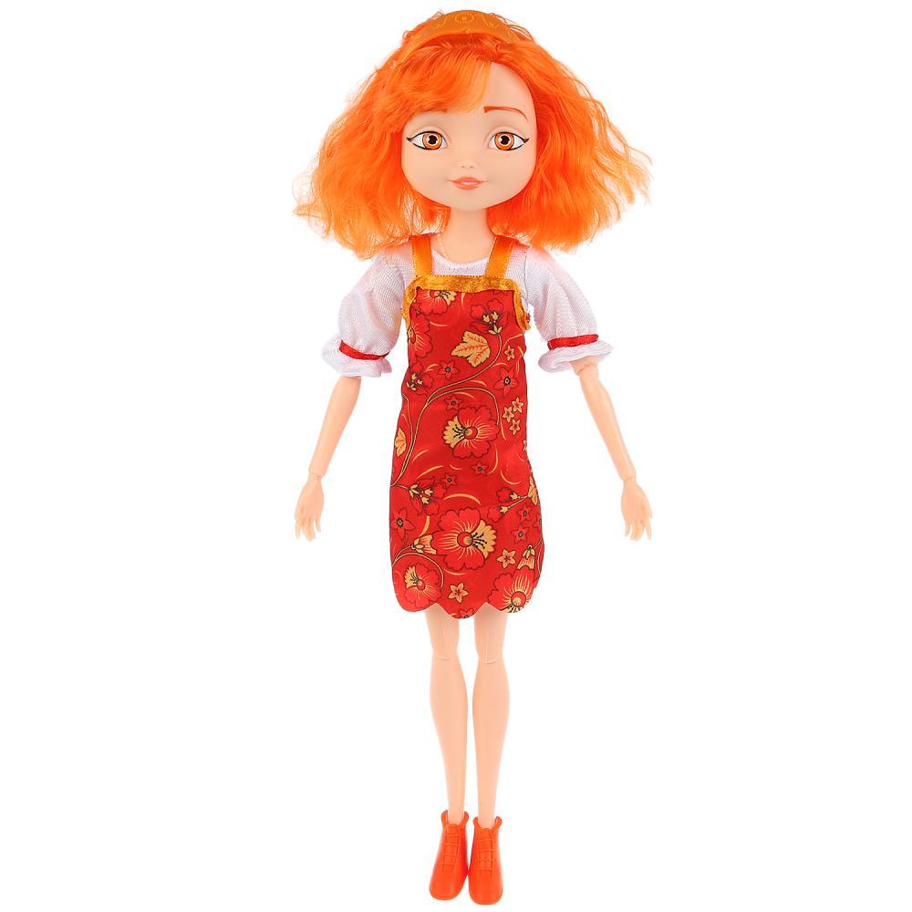 Купить Интерактивная кукла Царевны - Варвара краса, длинная коса 29 см, 15 фраз и песен из м/ф, Карапуз