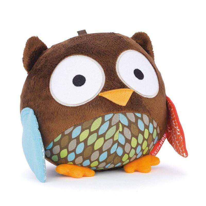Развивающая игрушка Сова с шелестящими крылышкамиДетские погремушки и подвесные игрушки на кроватку<br>Развивающая игрушка Сова с шелестящими крылышками<br>