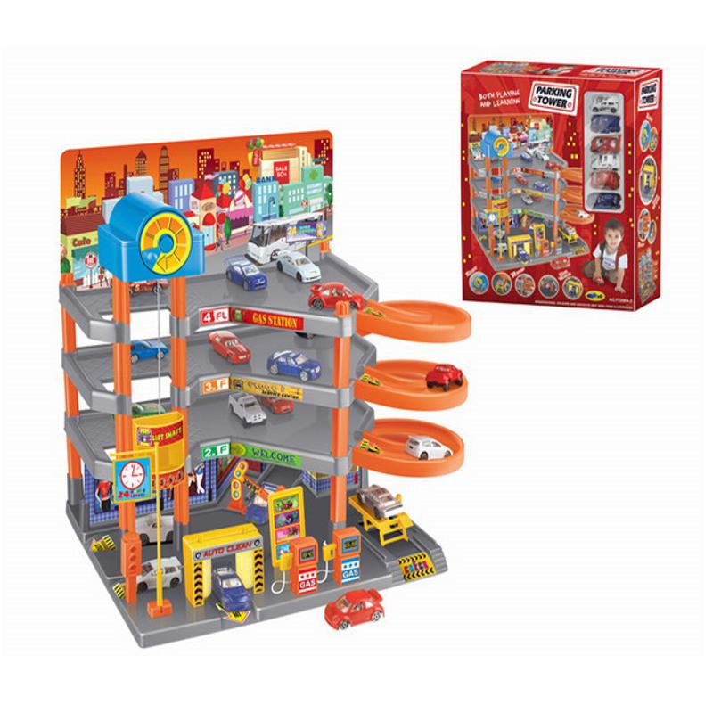 Автопарковка  Parking Tower - Детские парковки и гаражи, артикул: 166422