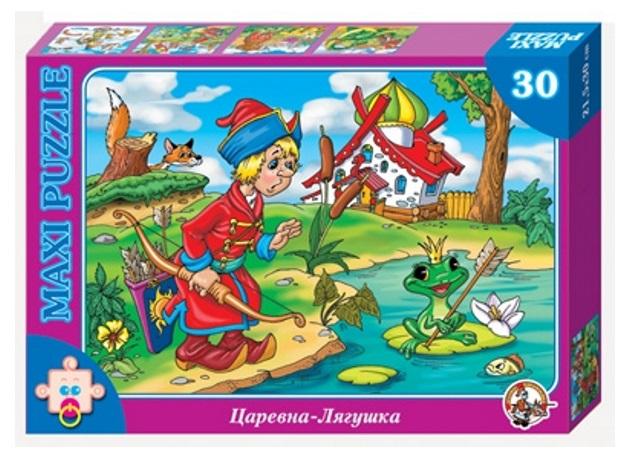 Пазл макси «Царевна лягушка», 30 элементовПазлы для малышей<br>Пазл макси «Царевна лягушка», 30 элементов<br>
