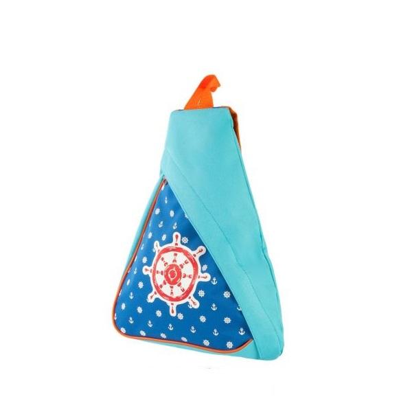 Треугольный рюкзак - МореДетские рюкзаки<br>Треугольный рюкзак - Море<br>