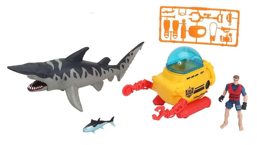 Купить Игровой набор - Батискаф аквалангиста, Chap Mei