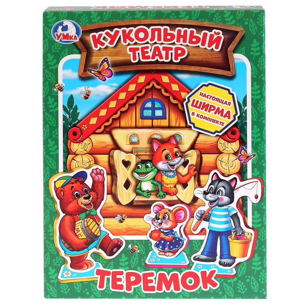 Купить Мягкий кукольный театр - Теремок, Умка