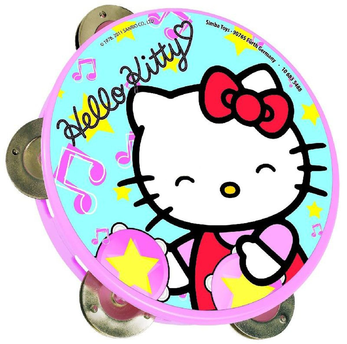 Тамбурин Hello KittyИгрушки Hello Kitty<br><br>