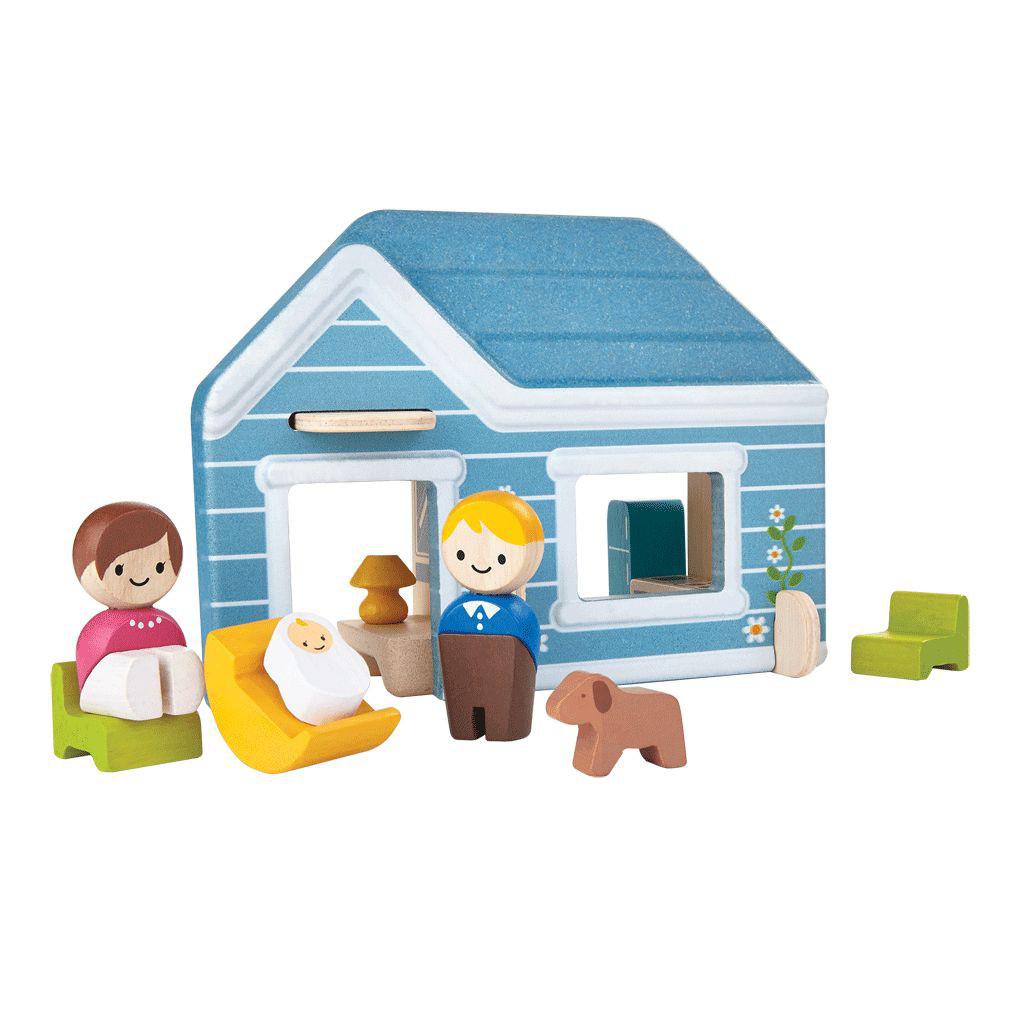 Игровой набор – Домик, с фигурками и мебельюКукольные домики<br>Игровой набор – Домик, с фигурками и мебелью<br>