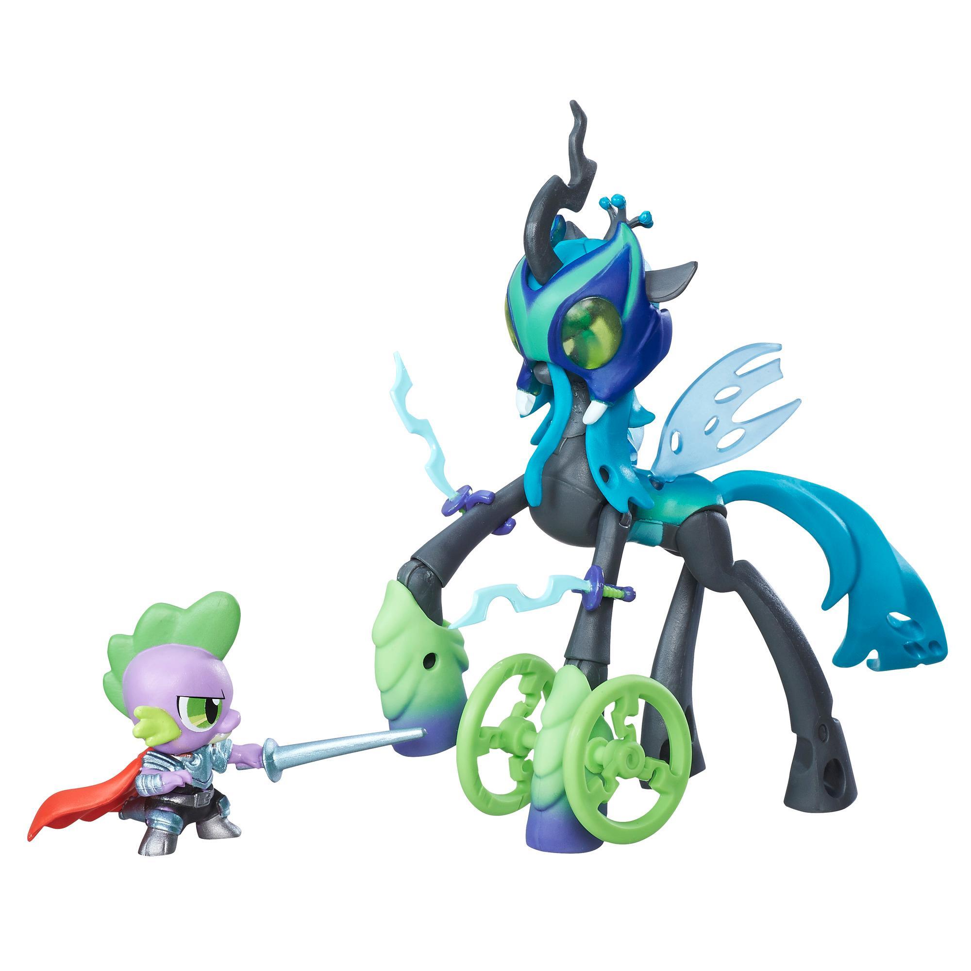 My Little Pony Guardians of Harmony - Спайк и Королева КризалисМоя маленькая пони (My Little Pony)<br>My Little Pony Guardians of Harmony - Спайк и Королева Кризалис<br>