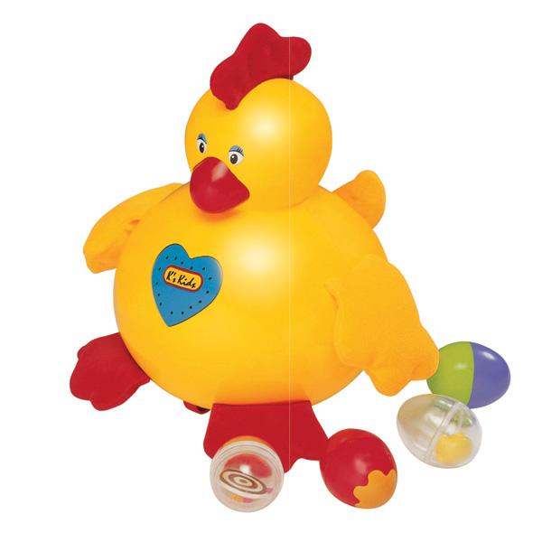 Детская развивающая игрушка «Курица несушка»Развивающие игрушки K-Magic от KS Kids<br>Детская развивающая игрушка «Курица несушка»<br>
