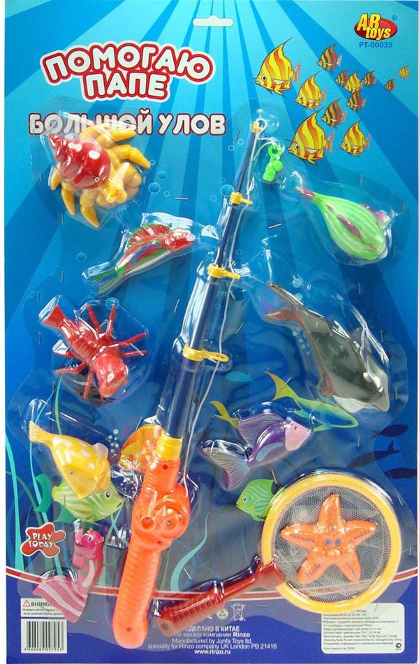 Набор игровой - Рыбалка. Большой УловИгрушки для ванной<br>Набор игровой - Рыбалка. Большой Улов<br>