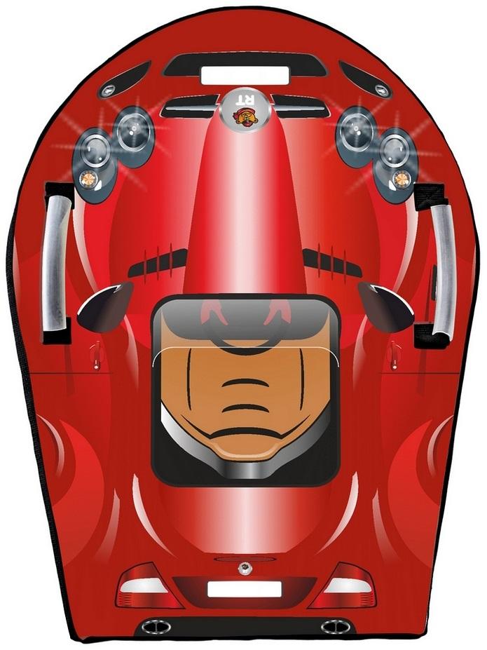 Ледянка Snow auto SLR MClaren, цвет красныйВатрушки и ледянки<br>Ледянка Snow auto SLR MClaren, цвет красный<br>