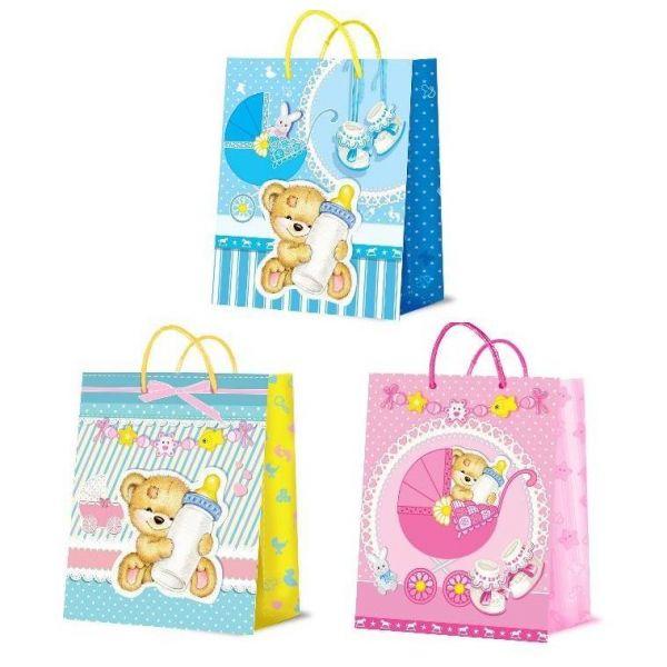 Подарочный пакет для новорождённыхПодарочные пакеты<br>Подарочный пакет для новорождённых<br>