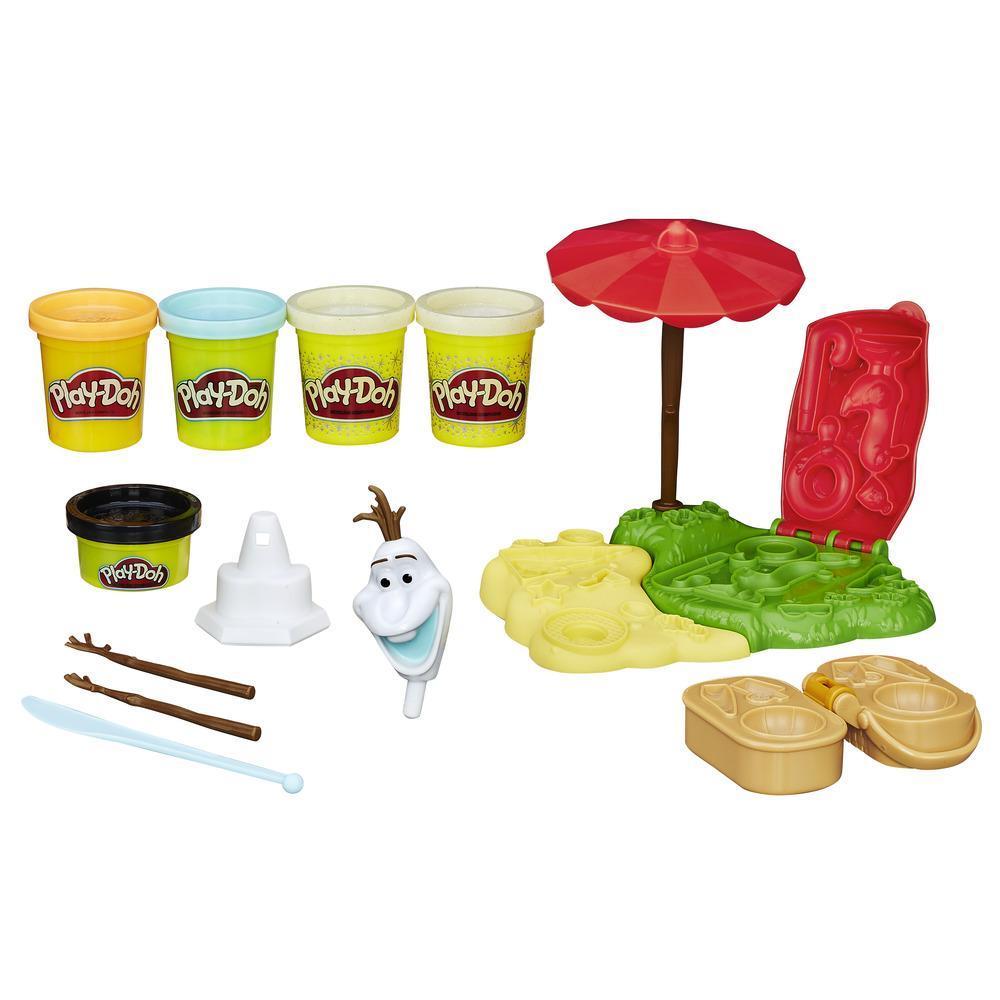 Игровой набор Play-Doh - Летние приключения ОлафаПластилин Play-Doh<br>Игровой набор Play-Doh - Летние приключения Олафа<br>