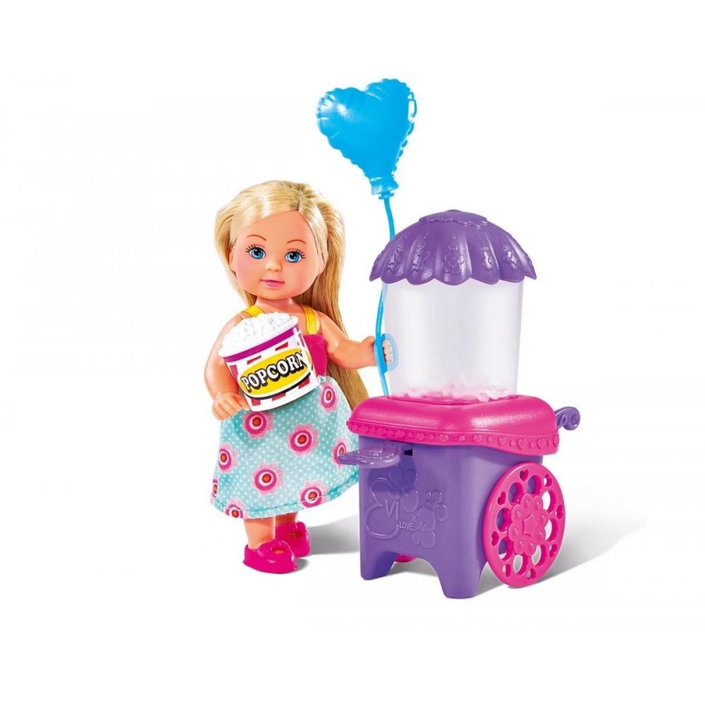 Кукла Еви делает попкорн, 12 см.Куклы Еви<br>Кукла Еви делает попкорн, 12 см.<br>