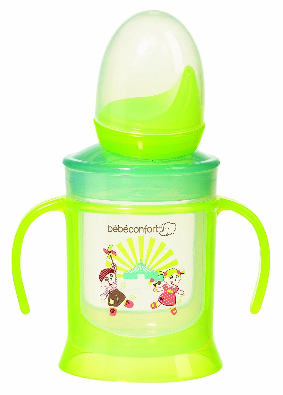 Универсальная пластиковая чашка-поильник, зеленаяПосуда<br>Универсальная пластиковая чашка-поильник, зеленая<br>
