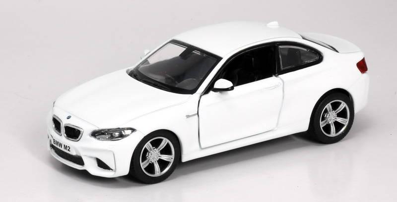 Металлическая инерционная машина RMZ City - BMW M2 Coupe with Strip, 1:32, 2 цветаBMW<br>Металлическая инерционная машина RMZ City - BMW M2 Coupe with Strip, 1:32, 2 цвета<br>