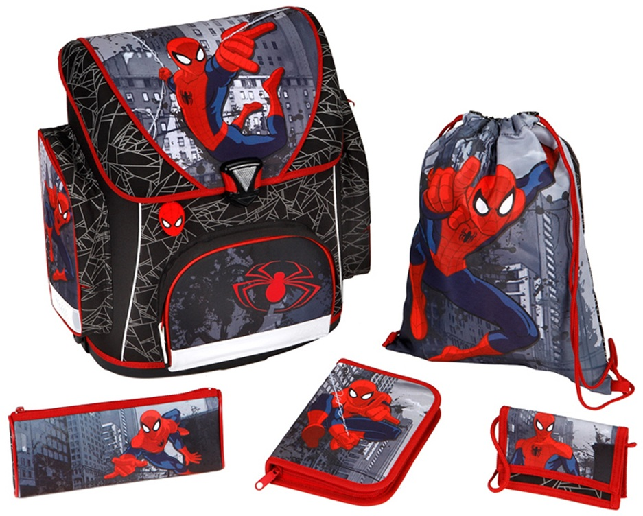 Scooli ранец с наполнением Spider-ManШкольные рюкзаки<br>Scooli ранец с наполнением Spider-Man<br>