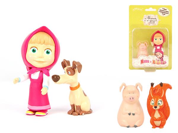 Фигурки - Маша и её друг. Маша и МедведьМаша и медведь игрушки<br>Фигурки - Маша и её друг. Маша и Медведь<br>