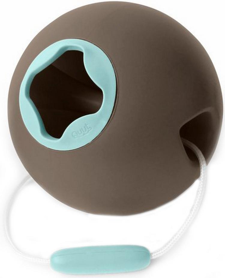 Ведёрко для воды Quut Ballo 1 литр, цвет: серый банджи и винтажный синий Bungee Grey + Vintage Blue  - купить со скидкой