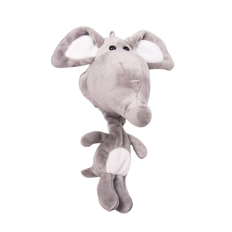 Мягкая игрушка-подвеска - Слон, 20 см фото
