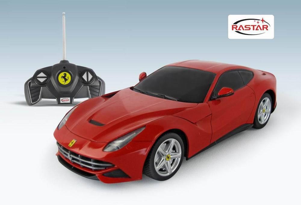 Радиоуправляемая машинка, масштаб 1:18, Ferrari F12 - Радиоуправляемые игрушки, артикул: 99651