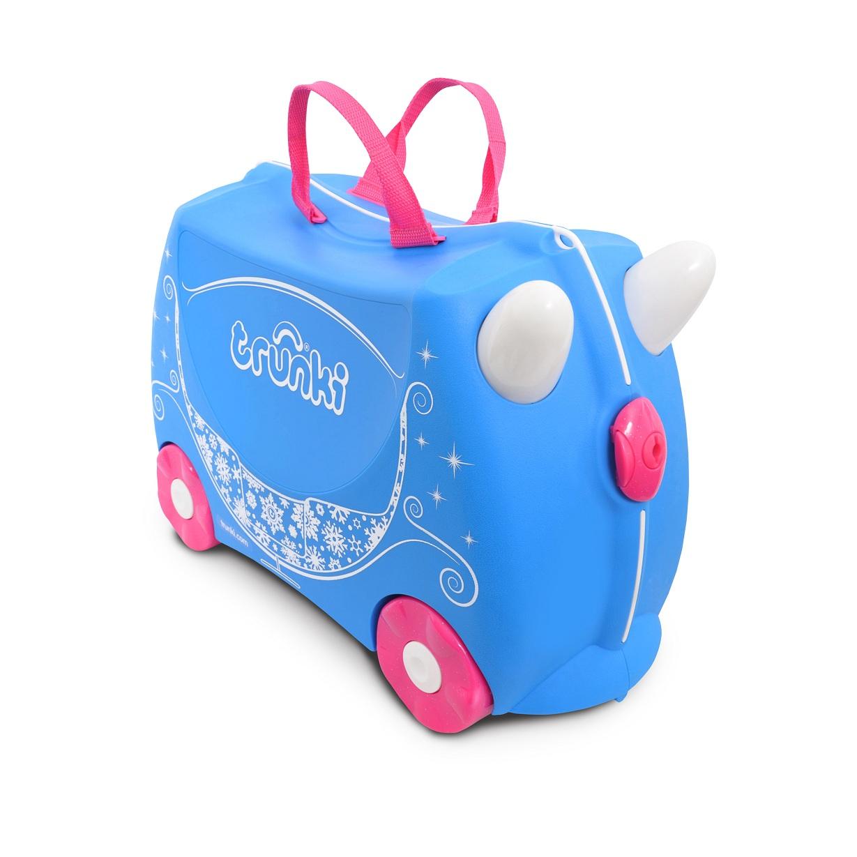 Купить Чемодан на колесиках Trunki Жемчужная карета принцессы