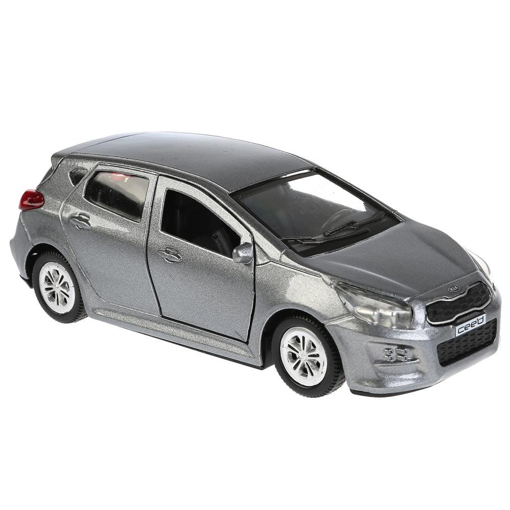 Купить Модель Kia Ceed, 12 см, открывающиеся двери, инерционная, серый, Технопарк