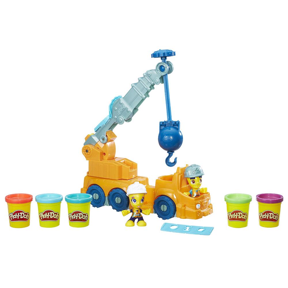 Набор для лепки из серии Play-Doh – КранПластилин Play-Doh<br>Набор для лепки из серии Play-Doh – Кран<br>