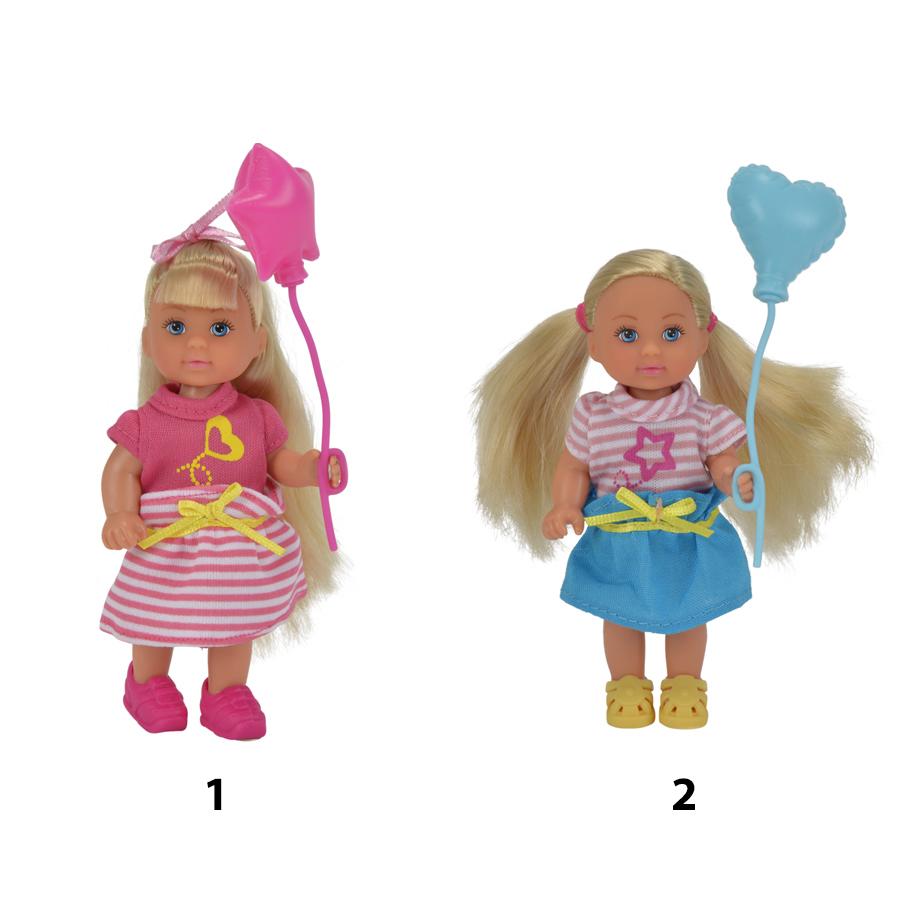 Кукла Еви с воздушным шариком, 2 видаКуклы Еви<br>Кукла Еви с воздушным шариком, 2 вида<br>