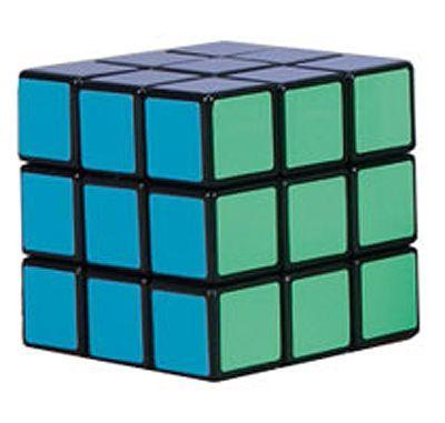 Головоломка для детей - кубик Рубика, 5,5 х 5,5 см.
