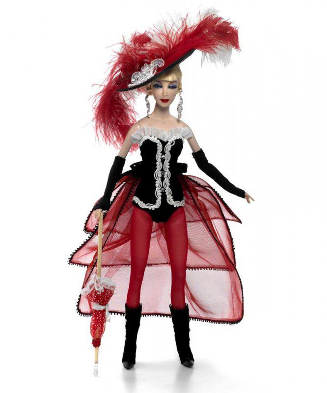 Кукла - Танцовщица из Мулен Руж, 41 смКуклы Madame Alexander<br>Кукла - Танцовщица из Мулен Руж, 41 см<br>