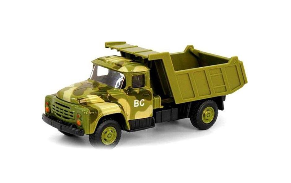 Купить Инерционный металлический грузовик ВС, кузов поднимается, 16 х 6 х 8 см., Play Smart