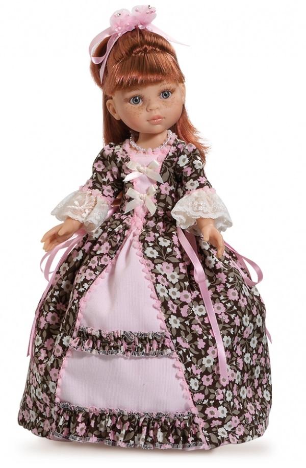 Кукла Настя в бальном платье, 32 смИспанские куклы Paola Reina (Паола Рейна)<br>Кукла Настя в бальном платье, 32 см<br>