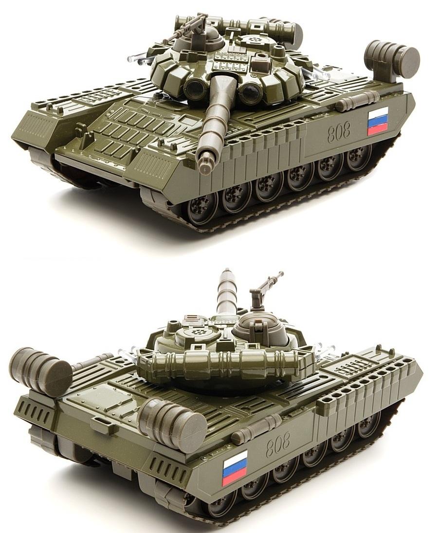 Модель танка Т-90, свет, звукВоенная техника<br>Модель танка Т-90, свет, звук<br>