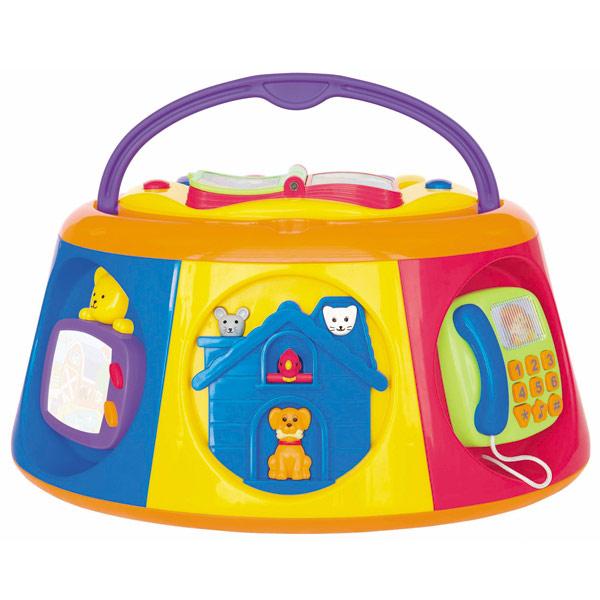 Развивающая игрушка Активный короб с книжкой - Детские развивающие игрушки, артикул: 98933