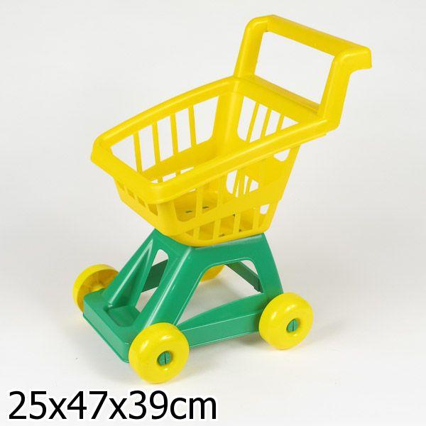 Тележка для супермаркетаДетская игрушка Касса. Магазин. Супермаркет<br>Тележка для супермаркета<br>