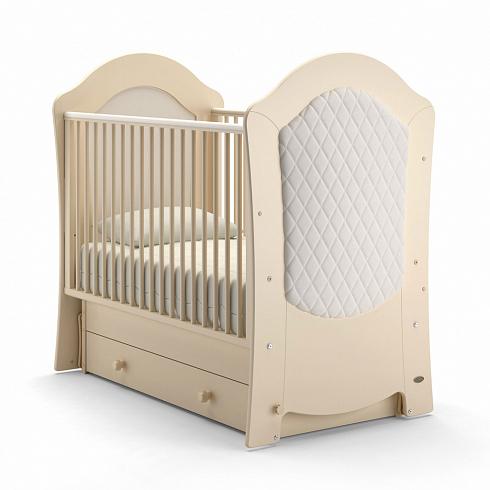 Купить Детская кровать - Nuovita Tempi Swing поперечный, Avorio/Слоновая кость