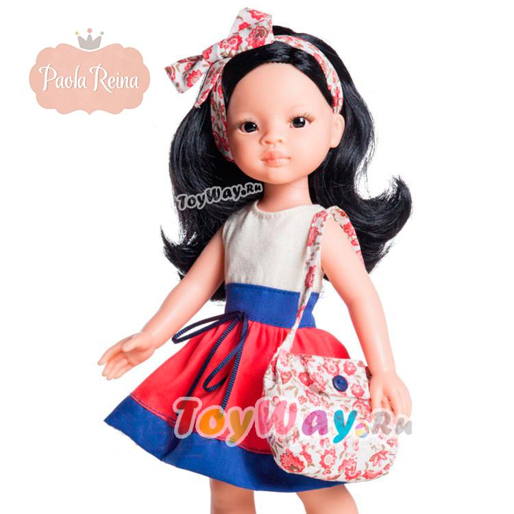 Кукла Лиу, 32 см.Испанские куклы Paola Reina (Паола Рейна)<br>Кукла Лиу, 32 см.<br>
