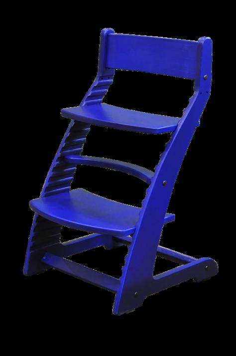 Купить Растущий стул Praktikk, цвет – Синий, Wood lines
