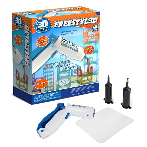 3D-ручка для создания объемных моделей FreestylE 3D3D ручки<br>3D-ручка для создания объемных моделей FreestylE 3D<br>