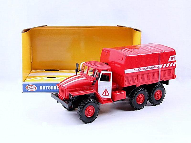 Машина - Пожарная со светом и звукомПожарная техника, машины<br>Машина - Пожарная со светом и звуком<br>