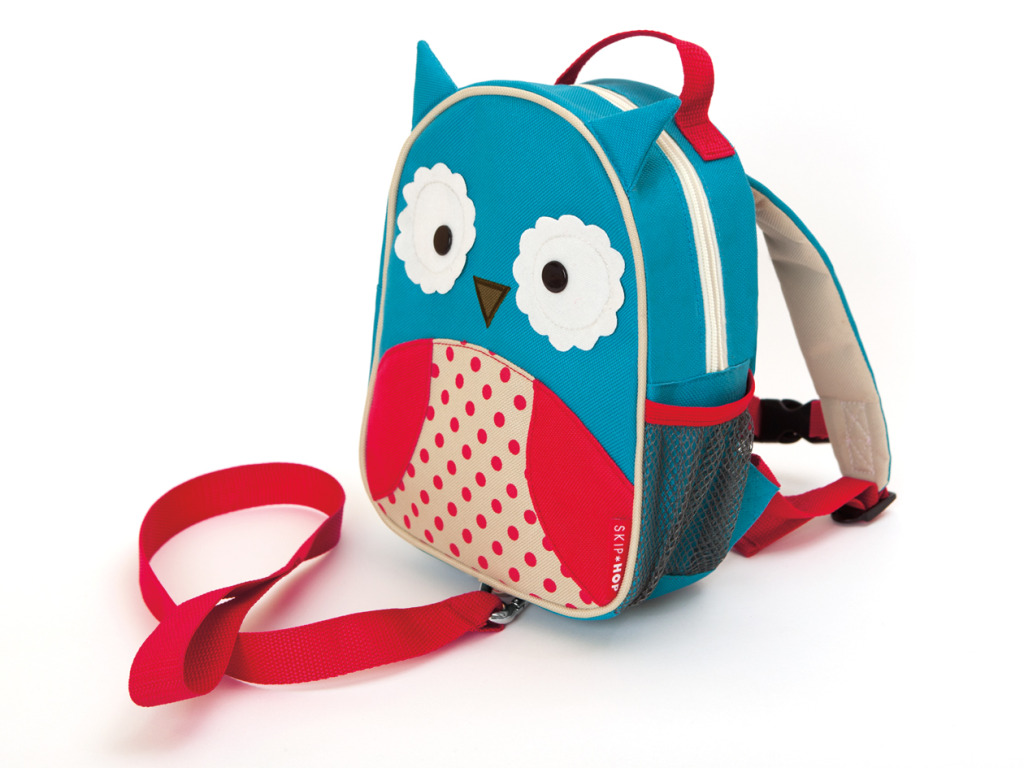 Рюкзак детский с поводком - СоваДетские рюкзаки<br>Рюкзак детский с поводком - Сова<br>