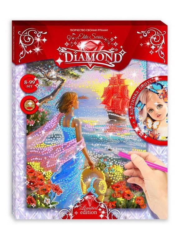 Мозаика Elite Series Diamond Ассоль + Девочка с собачкой по цене 496