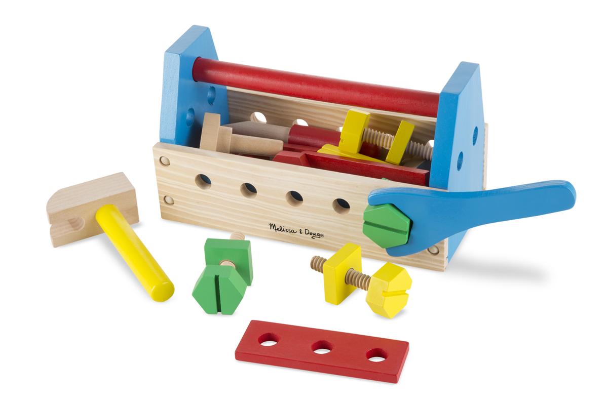 Набор деревянных инструментовДетские мастерские, инструменты<br>Набор деревянных инструментов<br>