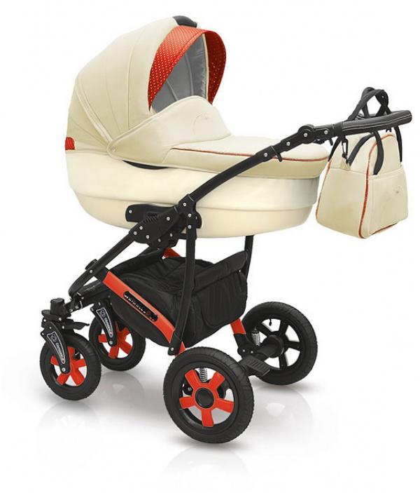 Детская коляска Camarelo Carera 2 в 1, бежеваяДетские коляски 2 в 1<br>Детская коляска Camarelo Carera 2 в 1, бежевая<br>