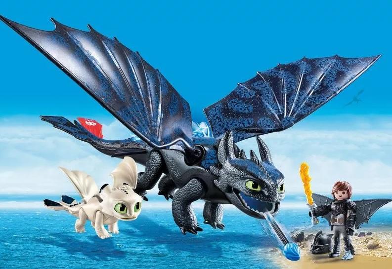 Купить Игровой набор новинка 2019 из серии Драконы III: Иккинг и Беззубик, Playmobil