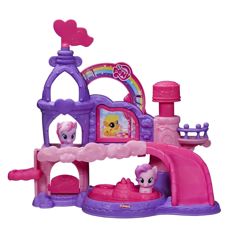 Праздничный замок, музыкальный, серия Playskool friends, My Little PonyМоя маленькая пони (My Little Pony)<br>Праздничный замок, музыкальный, серия Playskool friends, My Little Pony<br>