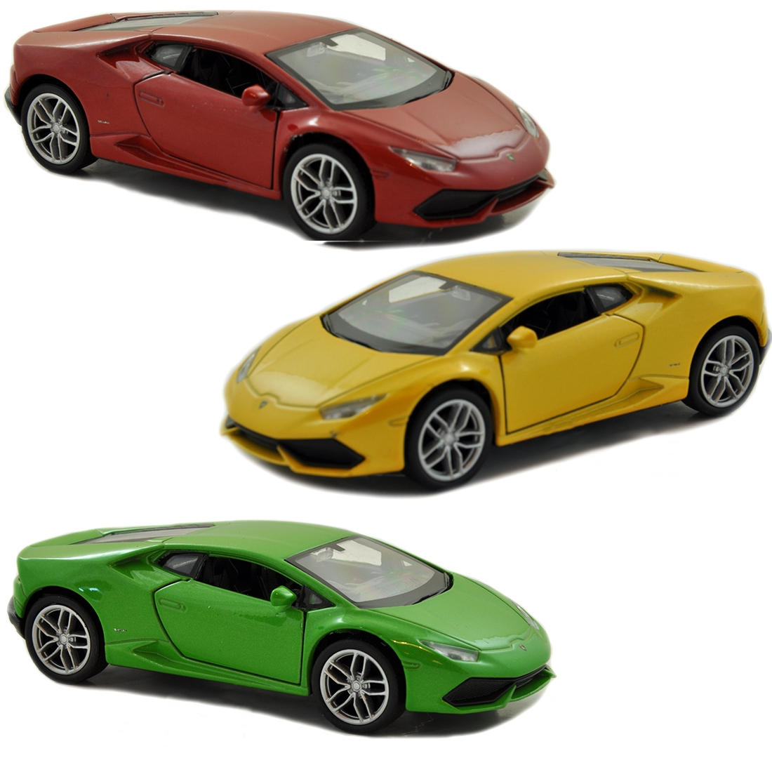 Модель машины Lamborghini Huracan LP610-4, 1:24Lamborghini<br>Модель машины Lamborghini Huracan LP610-4, 1:24<br>
