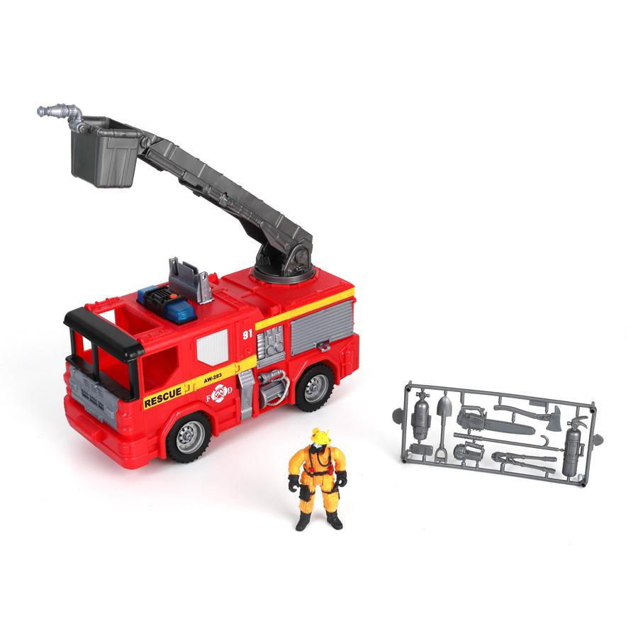 Купить Игровой набор: Пожарная машина, свет и звук, Chap Mei